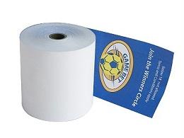 胶黏剂对热敏纸的影响
