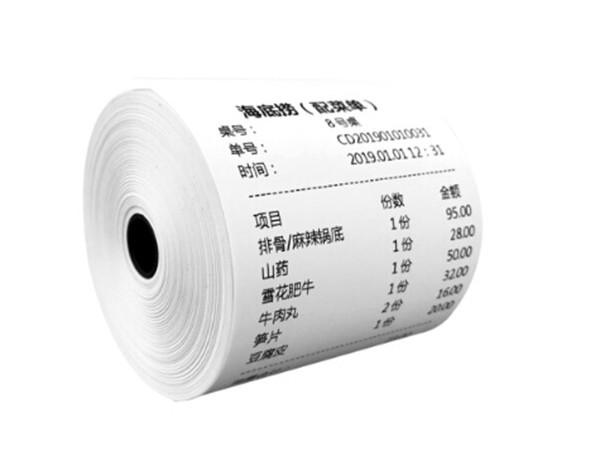 热敏纸打印成花状怎么办?热敏纸显示性不合格是什么原因?