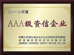 冠威AAA级资信企业